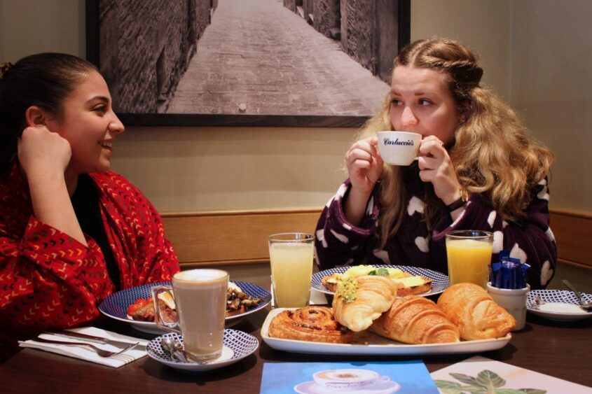 Turning Up In Your Pyjamas Will Earn You Free Breakfast At Carluccio's
